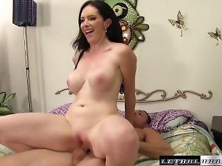Bella Catches Stepbro With Her Panties, Sucks His Cock And Eats His Cum