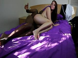 Interracial Couple Fucking On Cam