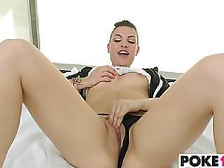 Freaky Teen Rachael Madori Takes Huge Cock