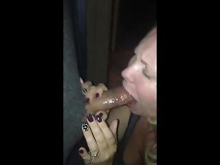 Wife Sucking Craigslist Stranger At Hm Glory Hole For First Time