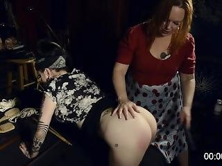 Heidee Nytes & Her Husband Pick Up Ophelia Rain For Spanking And Blowjob