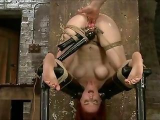 Big Tits Redhaired Slavegirl