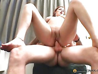 Girl Fucks Guy In Hot Anal