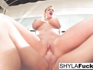 Shyla Gets Some Lessons On Mma Training But Then Gives A Lesson