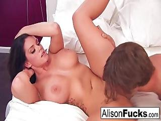 Alison Gets Her Pussy Pounded