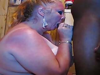 White Slutty Granny Face Fucked And Eats Cum Cassianobr