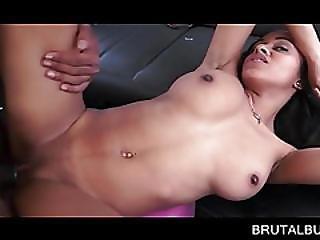 Big Tits Nympho Pounded On The Backseat