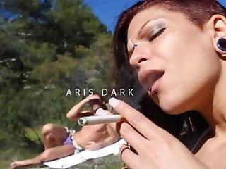 El Sueno De Aris Dark - Spanish Girl Having Sex In The River - Leche 69