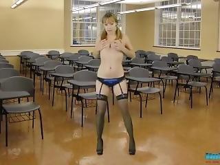 babe, kollege, udklædt, fetish, små bryster, teen, uniform