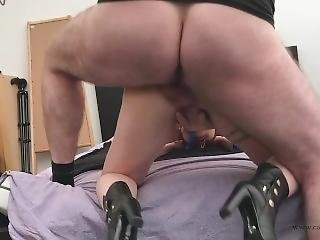 Old And Young - Hard Anal Pov Fucking With My Master
