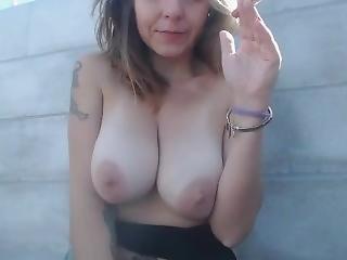 dikke tiet, brunette, fetish, franse, milf, publiek, roken, solo, webcam