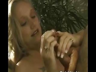 Pie And Milk With Handjob Is Good For Breakfast