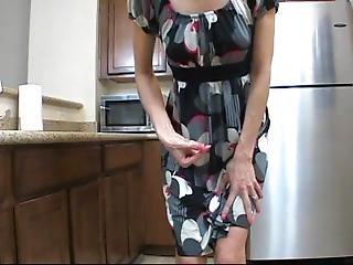 Crazy Wife Patent Heel Masturbation