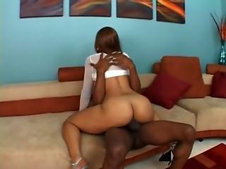 Black Babe Cassidy Clay Enjoys An Ebony Fuck
