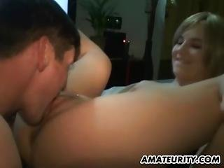 Cute Amateur Young Teen Girlfriend Homemade Hardcore