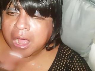 Travesti Chupando Verga De Macho Negro