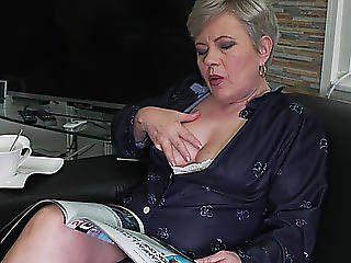 Aged Nl Menacing-threatening Nasty Aged Lady Getting Moist And Wild