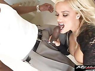 Shyla Stylez Has Massive Mammaries Matching For Monstrous Cock