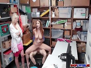blowjob, sexando, duro, madre, realidad, jengibre, nieve, Adolescente, ladron