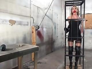 blonde, bondage