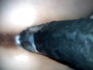 Big Black Cock In White Pussy