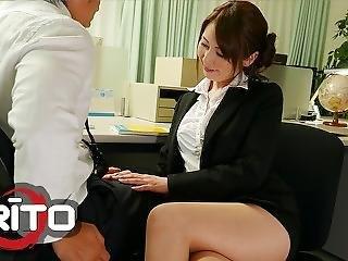 Erito - Asian Teacher Satomi Gets Fucked By Students