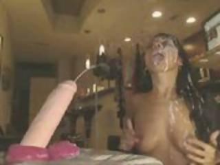 Slut Ass Bathing in Cum