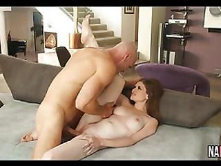 Perfect Tits Redhead Rides Long Cock Lara Brookes