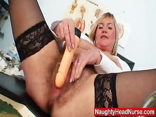 Well Endowed Amateur Mom Irma Got Extremly Shaggy Vagina
