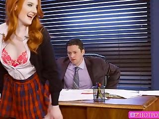 Krystal Is Displeased With Her Grade On The Midterm Exam And Approaches Professor Parker To Have It Changed Soon She Trades Sex For A Good Grade When The Secretary Leaves Krystal Is Free To Pursue All The Extra Credit Preston Can Give Her