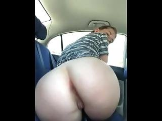 Thinking Daddy Pounding Me In Car