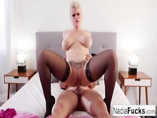 gros téton, blonde, pipe, classique, dans la tête, nique, milf, sexy, rasée, blanc