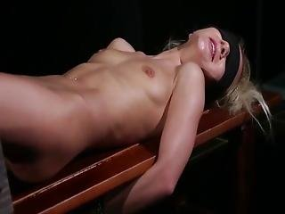 Whip Test And A Hot Blonde-- Casting