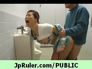 Japanese Girl Go Nasty In Public 8