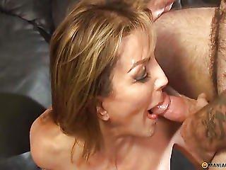 Aunt Opened Her Throat To His Semen