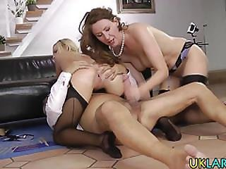 Heeled Slut Gets Jizzed