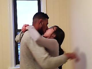 Korean Student Making Out With Her First Black Guy