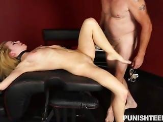 Teen Gets Punished The Fucked - Punish Teens
