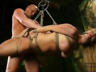 Robbye Bentley Suspended Hogtied