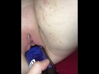 cerveza, botella, fetiche, sexando, masturbación, jugetes