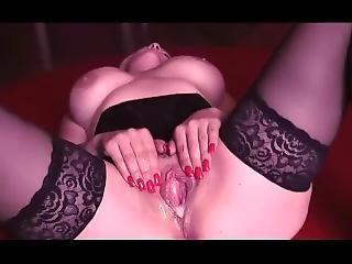 Busty Chubby Blonde Slutwife Creampie