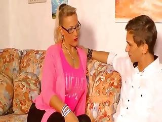 Finally Fuck With Horny German Stepmother