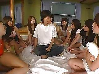 Seduta Sulla Faccia, Femdom, Gangbang, Sesso Di Gruppo, Giapponese, Gangbang Invertito, Sesso