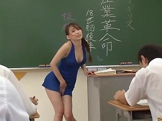 Perfect Body Asian Teacher Banged - P1