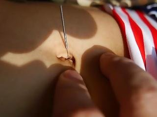 Hot Navel Torture # 2