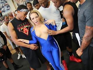 Bbc Slut Carmen Valentina Enjoys Group Sex