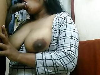 Indian Big Boobs Girl Mouth Fuck & Hard Fuck Cum Shot