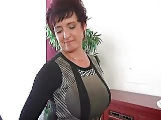 Big Boob, Boob, Masturbation, Mature, Stocking