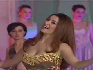 Smoothest Bellydancer Singer In A Sexy Dress