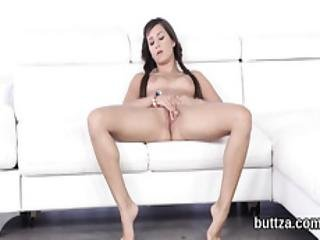 Stunning Tight Girl Gets Her Juicy Pussy And Tiny Anal Hole Screwed